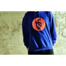 HOODIE TFC ROYALBLUE/FLUOR ORANGE
