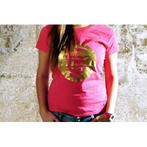 GIRL TSHIRT TFC PINK/GOLD