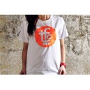 TSHIRT TFC WHITE/FLUOR ORANGE